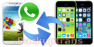 chat between iphone and android transfer whatsapp messages between android and iphone in clicks