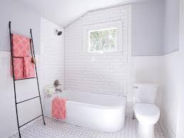 Subway Tile Bathroom Ceramic Tile Flooring Tips Diy