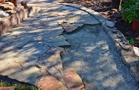 Building Stone Patio by Putting In A Flagstone Patio Is Like A Building A Jigsaw Puzzle