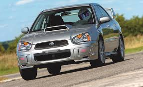 subaru wrx hatchback spoiler 2005 subaru impreza wrx sti comparison tests comparisons car