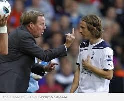 Funny Tottenham Memes - tottenham harry redknapp and luka modric funny pictures