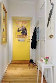 yellow door decor pinterest yellow hallway yellow doors and