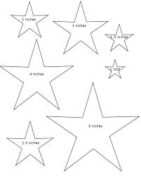 star outline printable print art design clipart free clip art