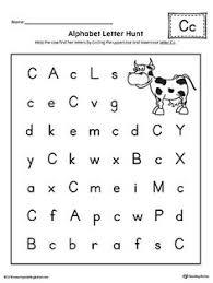 alphabet letter hunt letter b worksheet alphabet letters fun