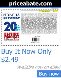 bed bath beyond 20 off coupon bed bath and beyond 2018ff entire purchase 21 comments