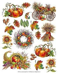 thanksgiving harvest wallpaper cutouts wallpaper border