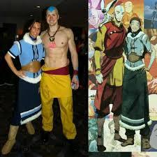 Korra Halloween Costume Aang Katara Costume Ideas Aang Avatar Cosplay