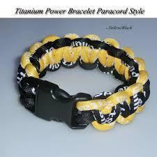 power bracelet images 2018 power balance braided bracelet customized paracord titanium jpg