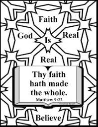 free bible christian coloring pages faith king james version