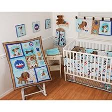 Puppy Crib Bedding Sets 10 Crib Bedding Set Puppy Pals By Sumersault Baby