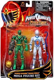 power rangers mystic force green ranger white triptoid exclusive