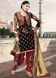 exclusive punjabi style salwar suit designs ideas with jacket