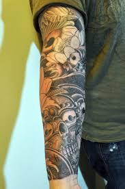 sun sleeve tattoos cool tattoos bonbaden