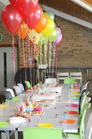 Table Decorating Balloons Ideas Party Decorations Ideas Table Image Inspiration Of Cake And