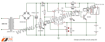 12v battery charger circuit with auto cut off circuits gallery
