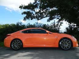 lexus v8 coupe used lexus rc f for sale