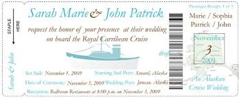 cruise wedding invitations 17 best ideas about cruise ship wedding on cruise