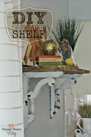 Wooden Shelf Building by Best 25 Barn Wood Shelves Ideas On Pinterest Barn Board