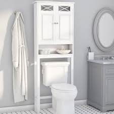 over the toilet cabinet wall mount wall mounted bathroom cabinets shelving you ll love wayfair