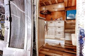 Airstream Custom Interiors Retrofit For A King The Coolest Customized Rvs On The Road