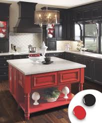 kitchen smartly red as wells as kitchen cabinet color combos that