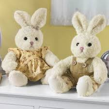 stuffed bunnies for easter plush bunnies from the swiss colony bi3237