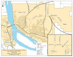 Map Of South Dakota Counties Central South Dakota Enhancement District