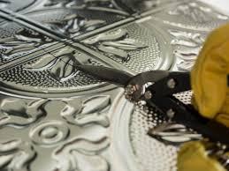 Kitchen Medallion Backsplash by How To Install A Tin Tile Backsplash How Tos Diy