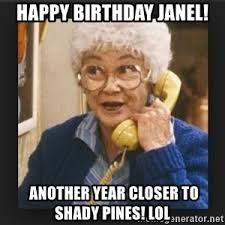 60 Year Old Girl Meme - what s that you say liz is turning 60 tomorrow welcome to the club