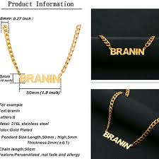 stainless steel name necklace images Men personalized stainless steel name necklace grandeur essentialz png