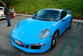 miami blue porsche porsche steals nitrous blue