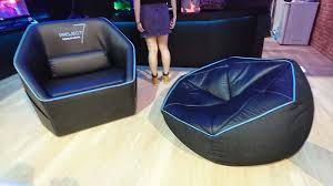 Bean Bag Gaming Chair Aerocool Reveal Gaming Chairs With A Twist At Computex 2017 Eteknix