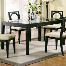 rectangular glass top dining room tables glass top dining table set 4 chairs round glass dining table set for