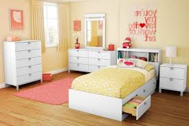 Cherry Wood Shelves by Kids Trundle Beds Two Tier Cherry Wood Shelves Placed Orange