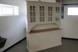 furniture white wooden buffet hutch with 4 drawers for kitchen