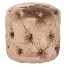 Tufted Pouf Ottoman by Pleasing Peacock Inspired Living Room Chic Romance Hayneedle