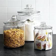 glass kitchen storage canisters jars for kitchen storage kitchen storage canisters vintage glass