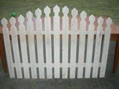 furniture u003e bedroom furniture u003e headboard u003e picket fence headboard