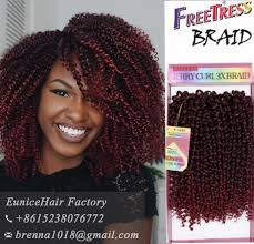 hair styles with jerry curl and braids freetress braids pre loop wand curl crochet hair extensions ombre