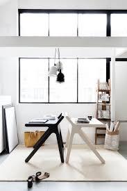 Black White Desk by K Desk Rafa Kids