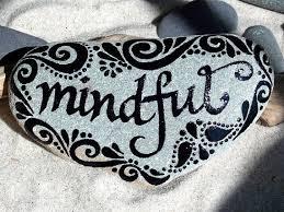 mindful painted rock sandi pike foundas cape cod sea stone