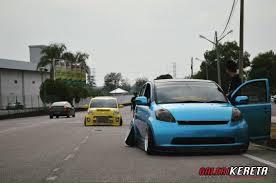 kereta bmw biru myvi modified compilation galeri kereta