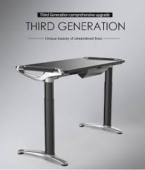Sit Stand Electric Desk Ergonomic Electric Height Adjustable Table Leg Sit Stand Desk