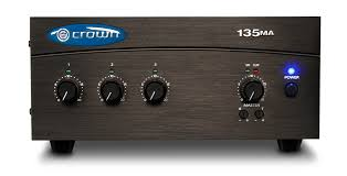 135ma crown audio professional power amplifiers