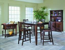 homelegance market square pub dining table wth butterfly leaf