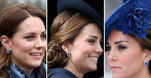 brantley gilbert earrings kate middleton sapphire jewellery duchess goes all out matching