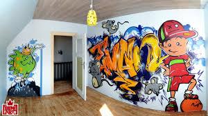 graffiti chambre chambre d evan à mertzwiller
