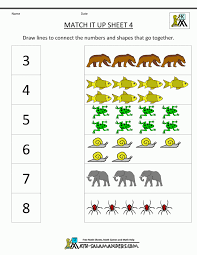 Envision Math Worksheets Pictures Math Worksheet Kids Pigmu Worksheets Kindergarten Match