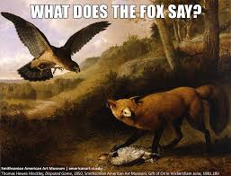 What Did The Fox Say Meme - what does the fox say disputed game 1850 thomas hewes hin flickr