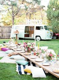 bohemian luxe interiors pearls to a picnic how to decorate your party table trends4us com